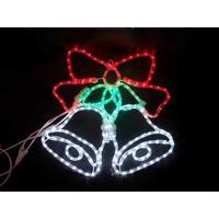 LED イルミネーション ディスプレイ 飾り 照明 ライティング クリスマス  ベル 【L2DM181】CR