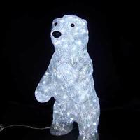 LED イルミネーション ディスプレイ 飾り 照明 ライティング クリスマス  スタンドアップベア 【 L3D194 】