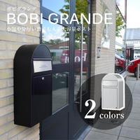 POST 【 BOBI GRANDE ボビグランデ】 郵便 ポスト マットブラック 【 AAH70A 】 GA-34