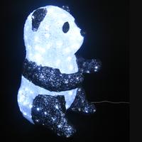 イルミネーション ディスプレイ 飾り 照明 ライティング クリスマス  パンダ 【L3D363】