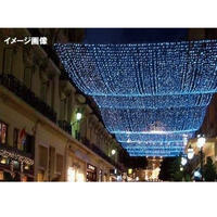 LED イルミネーション ネットライト 点滅 照明 ライティング クリスマス ミルキーウェイ 【白×青】 【白×電球色】 庭 ガーデン 家 CR-39 ( 2C180WB2 / 2C180WD2 )