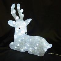 LED イルミネーション ディスプレイ 飾り 照明 ライティング クリスマス  シッティングトナカイ【L3D331】CR-89