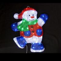 LED イルミネーション 壁掛けスノーマン ディスプレイ 飾り 庭 クリスマス 【 L2DM286 】CR-72
