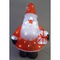 LED イルミネーション ディスプレイ 飾り 照明 ライティング クリスマス   三角サンタ【L3D359】CR-85