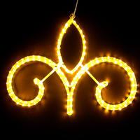 LED イルミネーション ディスプレイ 飾り 照明 ライティング クリスマス   ストリートモチーフ アラベスク62【 L2DM292 】CR-71