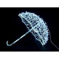 LED イルミネーション ディスプレイ 飾り 照明 ライティング クリスマス  傘 アンブレラ【 L3D293 】CR-87
