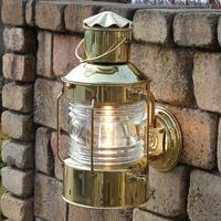 100V【DEN HAAN ROTTERDAM  デンハーロッテルダム】真鍮 アンカーランプ M マリン オランダ 室内外 ブラケット 照明 ライト インテリア アンティーク GA-121