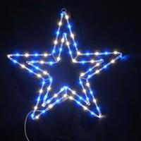 LED イルミネーション ディスプレイ 飾り 照明 ライティング クリスマス  ダブルカラースター  【L2DM500】