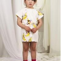 mini rodini ミニロディーニ  BANANAS PRINTED DRESS ワンピース  定価$69