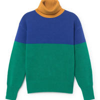 BOBO CHOSES  color block jumper 定価$252
