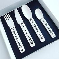 子供用 お食事 プラスチックカトラリーセット