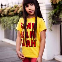 mini rodini ミニロディーニ  BLAH T-SHIRT  Tシャツ 定価$39
