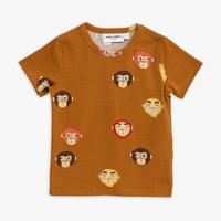 mini rodini ミニロディーニ  MONKEYS PRINTED T-SHIRT  Tシャツ 定価$39