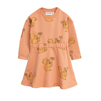 mini rodini ミニロディーニ CHEER CATS T-SHIRT DRESS ワンピース 定価$89