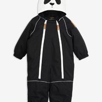 mini rodini ミニロディーニ  ALASKA PANDA BABY OVERALL オーバーオール 定価$259