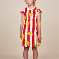 mini rodini ミニロディーニ   SUN STRIPE WING DRESS ワンピース  定価$59