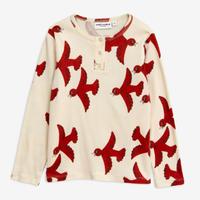 mini rodini ミニロディーニ    FLYING BIRDS GRANDPA ロング Tシャツ 定価$55