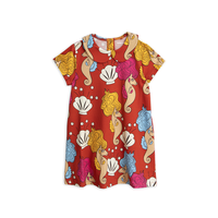 mini rodini ミニロディーニ   WOVEN DRESS  ワンピース  定価$89