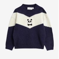 mini rodini ミニロディーニ      PANDA KNITTED WOOL SWEATER ウールセーター 定価$119