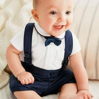 子供用 半袖フォーマル服 スーツ  オーバーオール