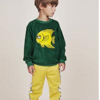mini rodini ミニロディーニ FISH TERRY トレーナー 定価$69