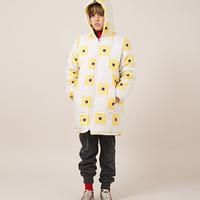 BOBO CHOSES geometric print padded coat コート 定価$568