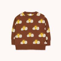 """tiny cottons タイニーコットンズ   """"SLEEPY SUN"""" SWEATER セーター"""