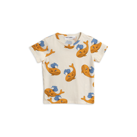 mini rodini ミニロディーニ WHALE  T-SHIRT  Tシャツ 定価$39