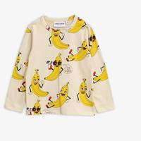 mini rodini ミニロディーニ  BANANAS LONG SLEEVE T-SHIRT ロング Tシャツ 定価$45