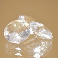 ラウンドブリリアントカットクリスタル(水晶)
