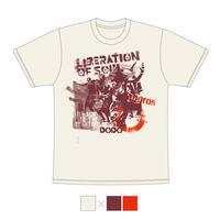 DRAGON76×cafe DODOコラボTシャツ【サンド】