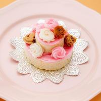 カラフルローズ ミートケーキ