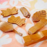 屋久杉の箸置き 5個セット
