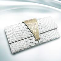 「神話財布」ホワイトパイソン
