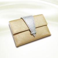 「神話財布」名刺入れ ゴールド
