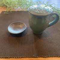 フタ付マグカップ&小皿セット「小原高広」