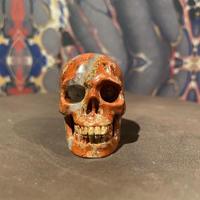 Natural Red Jasper  Skull