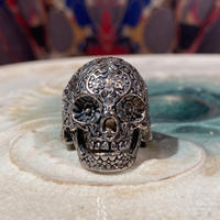 Vintage Psychedelic Skull Ring