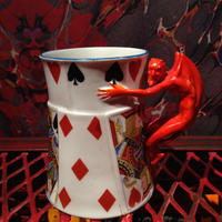 Royal  Bayreuth  Bavaria  Devil & Card  Mug