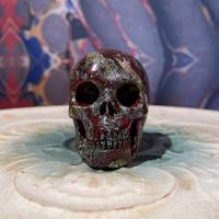 Dragon  Blood Jasper  Skull  【2】