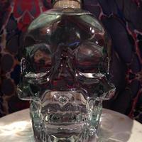 Crystal Skull  Vodka  Bottle