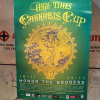 13th  High Times Cannabis Cup Art Poster