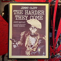 Vintage  Poster 【JIMMY CLIFF  THE HARDER THEY COME】