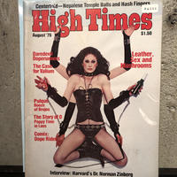 Old   HIGH TIMES  Magazine     ~ August  '76 ~