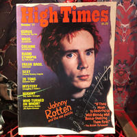 Vintage  HIGH TIMES  Magazine     ~ October  '77 ~