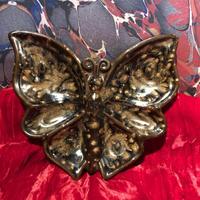 Vintage Pottery  Butterfly Ashtray