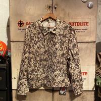 【HOLD】Vintage  Fake Snakeskin Jacket