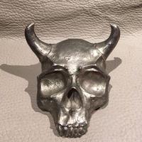 Vintage  Evil  Skull  Desk  Ornament