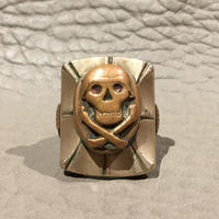 Vintage  Mexican  Skull & Crossbones  Ring