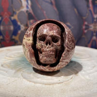 Natural  Jasper  Round  Skull